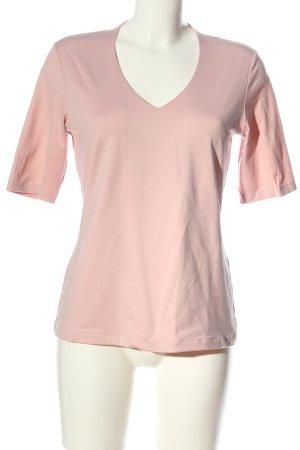 s.Oliver V-Ausschnitt-Shirt pink Casual-Look