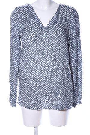 s.Oliver T-shirt col en V imprimé allover style décontracté