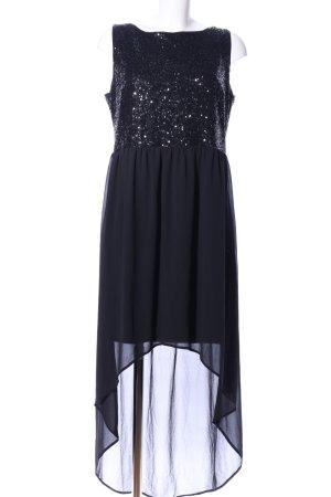 s.Oliver Vokuhila-Kleid schwarz Elegant