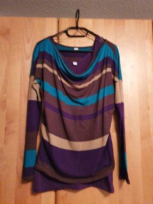 S. Oliver Wasserfall T-Shirt mit passendem Top Größe 36