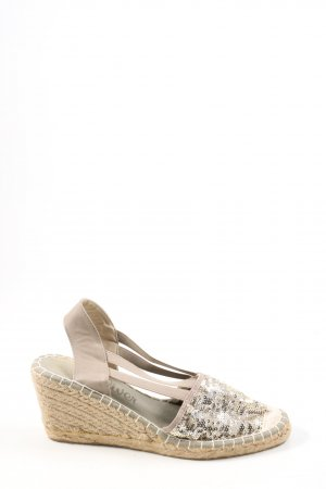 s.Oliver Wedges Sandaletten wollweiß Casual-Look