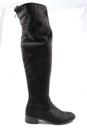 s.Oliver Wide Calf Boots black elegant