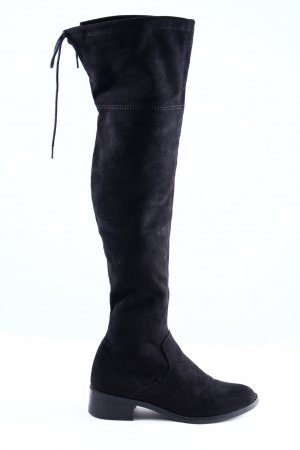 s.Oliver Wide Calf Boots black casual look