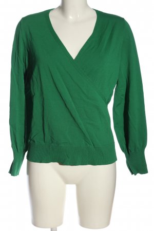 s.Oliver Wraparound Blouse green casual look