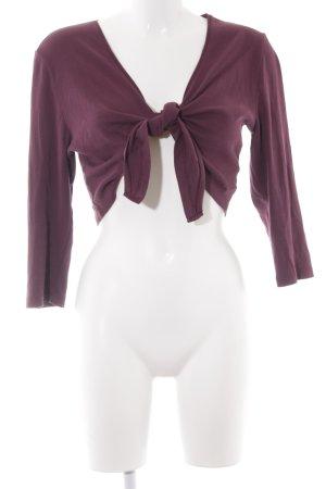 s.Oliver Wraparound Jacket purple casual look