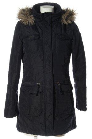 s.Oliver Kurtka zimowa czarny W stylu casual