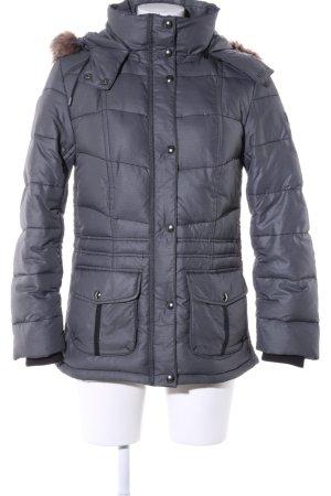 s.Oliver Abrigo de invierno gris claro estampado acolchado look casual