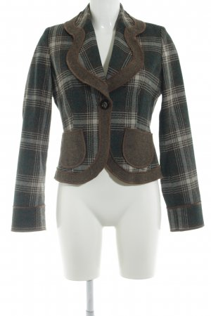 s.Oliver Woll-Blazer Glencheckmuster Business-Look