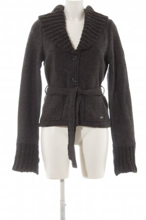 s.Oliver Wolljacke anthrazit Casual-Look