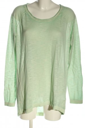 s.Oliver Wollpullover grün meliert Casual-Look