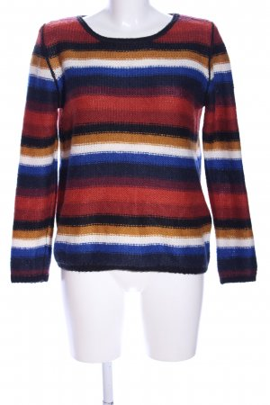 s.Oliver Wollpullover Streifenmuster Casual-Look