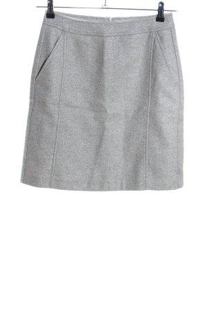 s.Oliver Falda de lana gris claro-color plata moteado look casual