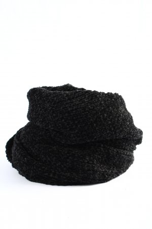 s.Oliver Woolen Scarf black flecked casual look