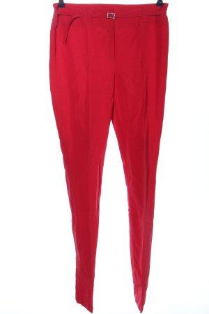 s.Oliver WOMEN Pantalone da abito rosso stile casual