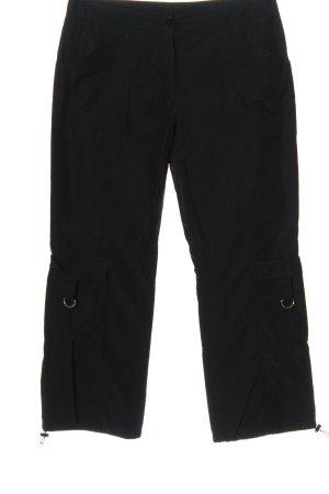 s.Oliver WOMEN Pantalon cargo noir style décontracté