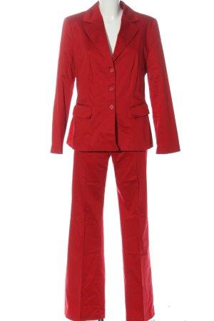 s.Oliver WOMEN Tailleur-pantalon rouge style d'affaires