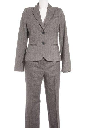 s.Oliver Kostüm grau Webmuster klassischer Stil