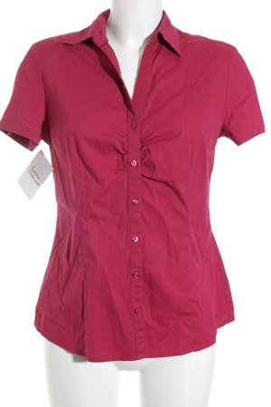 s.Oliver Kurzarm-Bluse magenta Business-Look