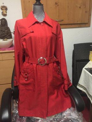 S. Oliver women Trenchcoat 42 Rot