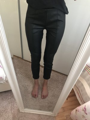 QS by s.Oliver Pantalone in pelle nero