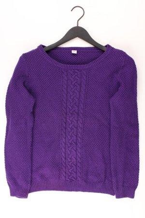 s.Oliver Warkoczowy sweter fiolet-bladofiołkowy-jasny fiolet-ciemny fiolet
