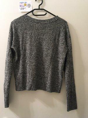 S Pulli H&M grau schwarz weiß