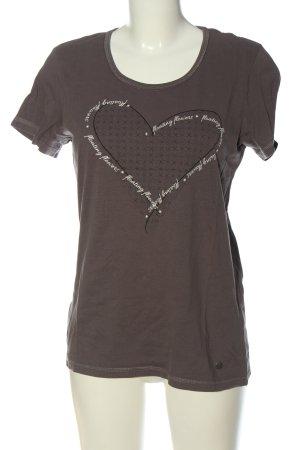 S'questo T-Shirt Motivdruck Casual-Look