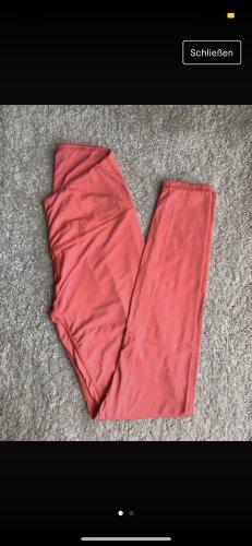 Pantalone da ginnastica rosa-salmone