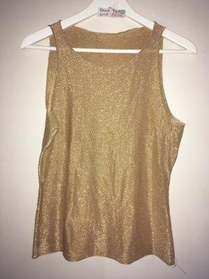 S Shirt top gold