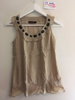 S Shirt top k Moss beige