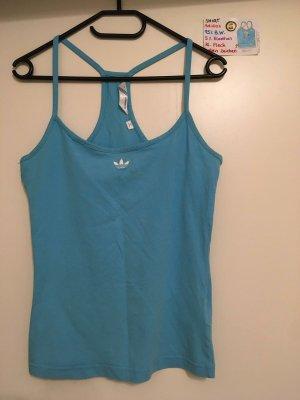 S Shirt türkis Adidas mit mini Fleck