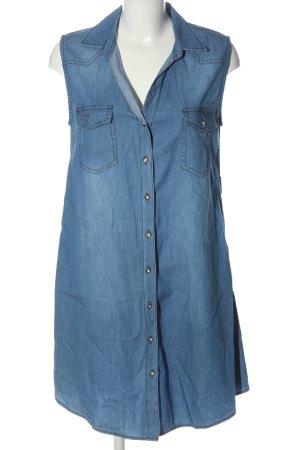 S&W Fashion Abito denim blu stile casual