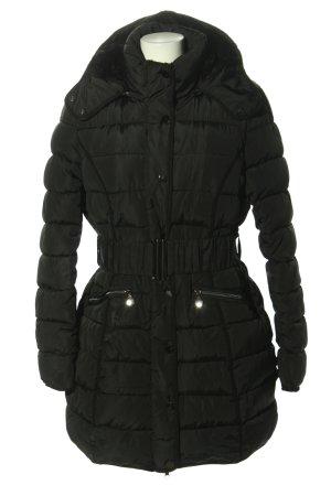 S'WEST Wintermantel schwarz Steppmuster Casual-Look