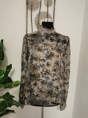 S3SS Silk Blouse grey silk