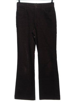 Sa.Hara Pantalón de pana marrón look casual