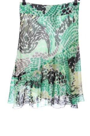 Sa.Hara Flared Skirt abstract pattern casual look
