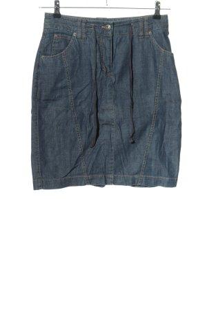 Sa.Hara Jeansrock blau Casual-Look