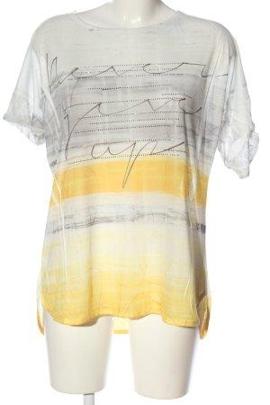 Sa.Hara Short Sleeved Blouse color gradient casual look