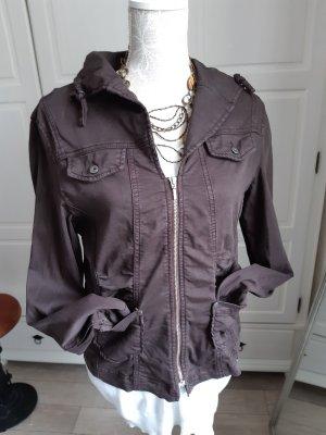 Sa.Hara Short Jacket dark brown