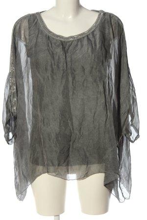 Sa.Hara Oversized Blouse light grey casual look