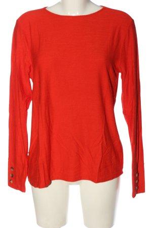 Sa.Hara Crewneck Sweater red casual look