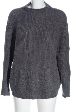 Sa.Hara Crewneck Sweater light grey flecked casual look
