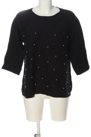 Sa.Hara Crewneck Sweater black casual look