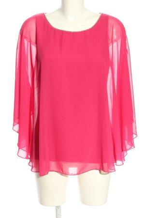 Sa.Hara Camicetta da notte rosa stile casual