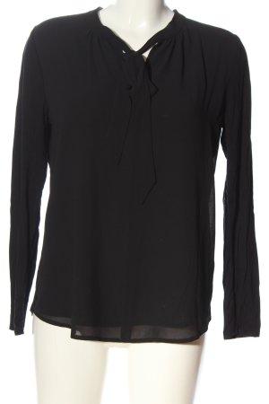 Sa.Hara Slip-over Blouse black casual look