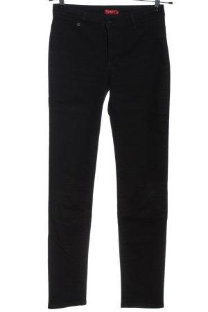 Sa.Hara Slim Jeans black casual look