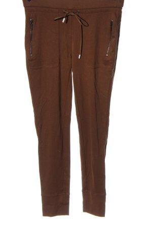 Sa.Hara Jersey Pants brown casual look