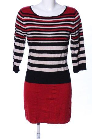 Sa.Hara Robe en maille tricotées motif rayé style décontracté