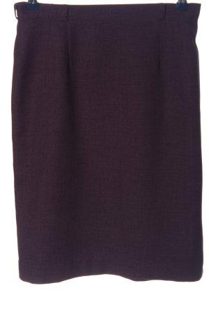 Sa.Hara Knitted Skirt lilac casual look