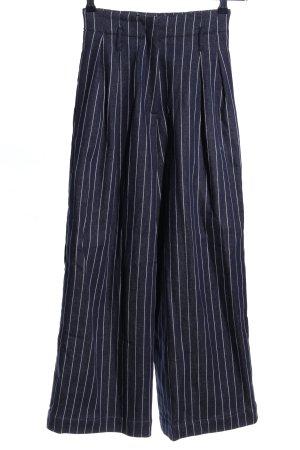 Sabinna Culottes blau-weiß Streifenmuster Casual-Look
